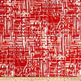 Fashionable very lightweight and soft this crepe de chine fabric is perfect for trendy blouses scarves fashionable flowy dresses and skirts with a lining. Colors include red coral and white.