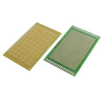 Amazon.com: aexit rectangular universal Prototipo PCB placa ...
