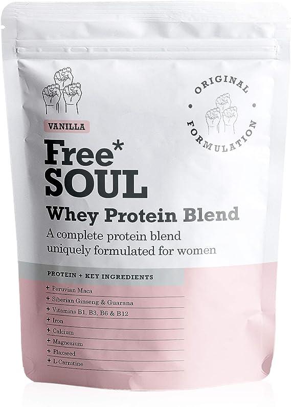 Free Soul Proteína Whey en Polvo Mujer/Whey Protein | 80 ...