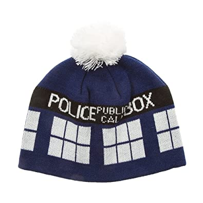 91b68cabb44 Image Unavailable. Image not available for. Color  Icing Women s Doctor Who Tardis  Beanie Hat