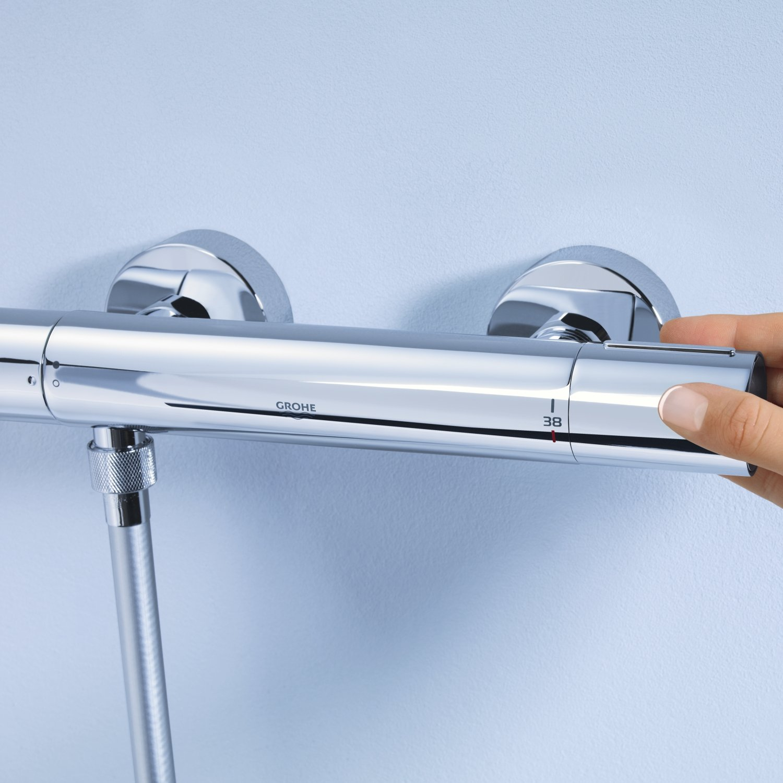 GROHE 34286002 | Grohtherm 1000 Cosmopolitan M Shower Set: Amazon.co ...