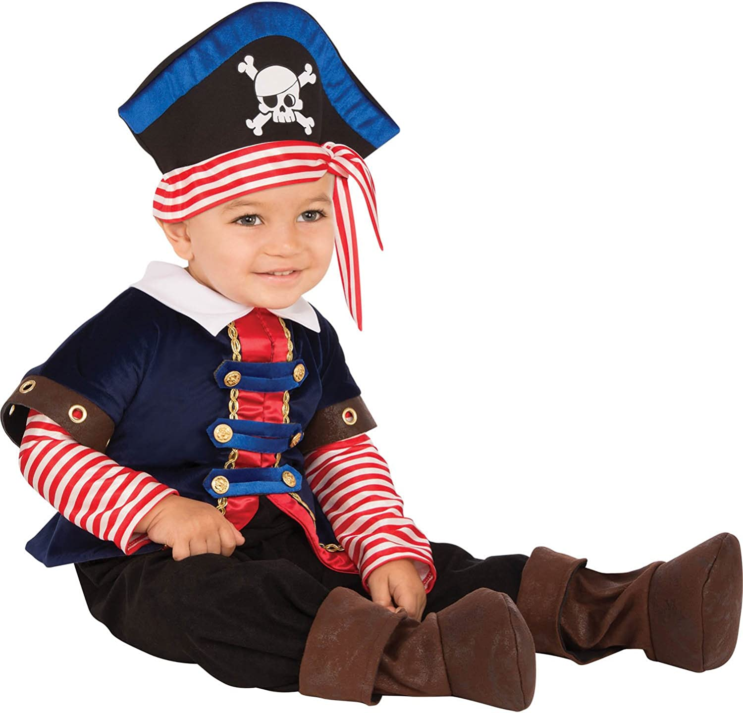COSLAND Infant Baby Boys Caribbean Pirate Halloween Costume