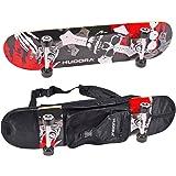 Hudora 12171 Skateboard (klassisch) Mehrfarben Komplettes Skateboard, 12171