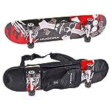 Hudora - 12171 - Skateboard avec Sac à Dos de Transport
