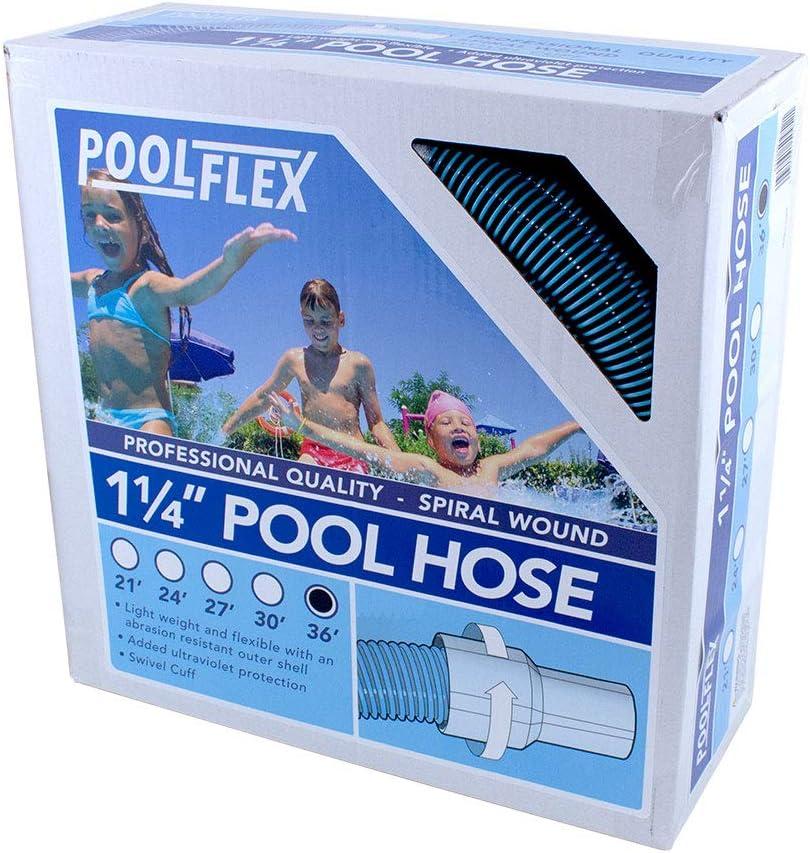 1-1//4 in x 24 ft PoolFlex 520NB Swimming Pool Hose