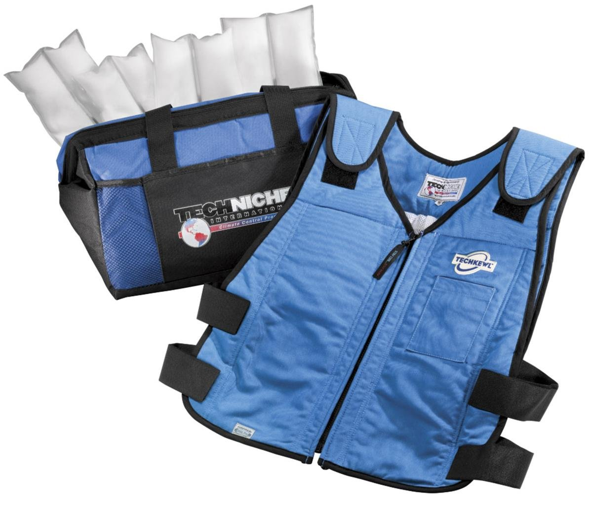 TechKewl 6626-RB-XXL Phase Change Cooling Vest by TechKewl (Image #1)