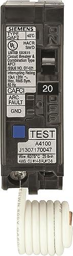 Murray MPA120AFCP 20-Amp Single Pole 120-volt Plug-On Combination AFCI Breaker