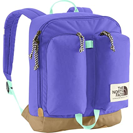 ff0a488cf4 Amazon.com   The North Face - Youth Mini Crevasse Backpack (Starry Purple Surf  Green)   Sports   Outdoors