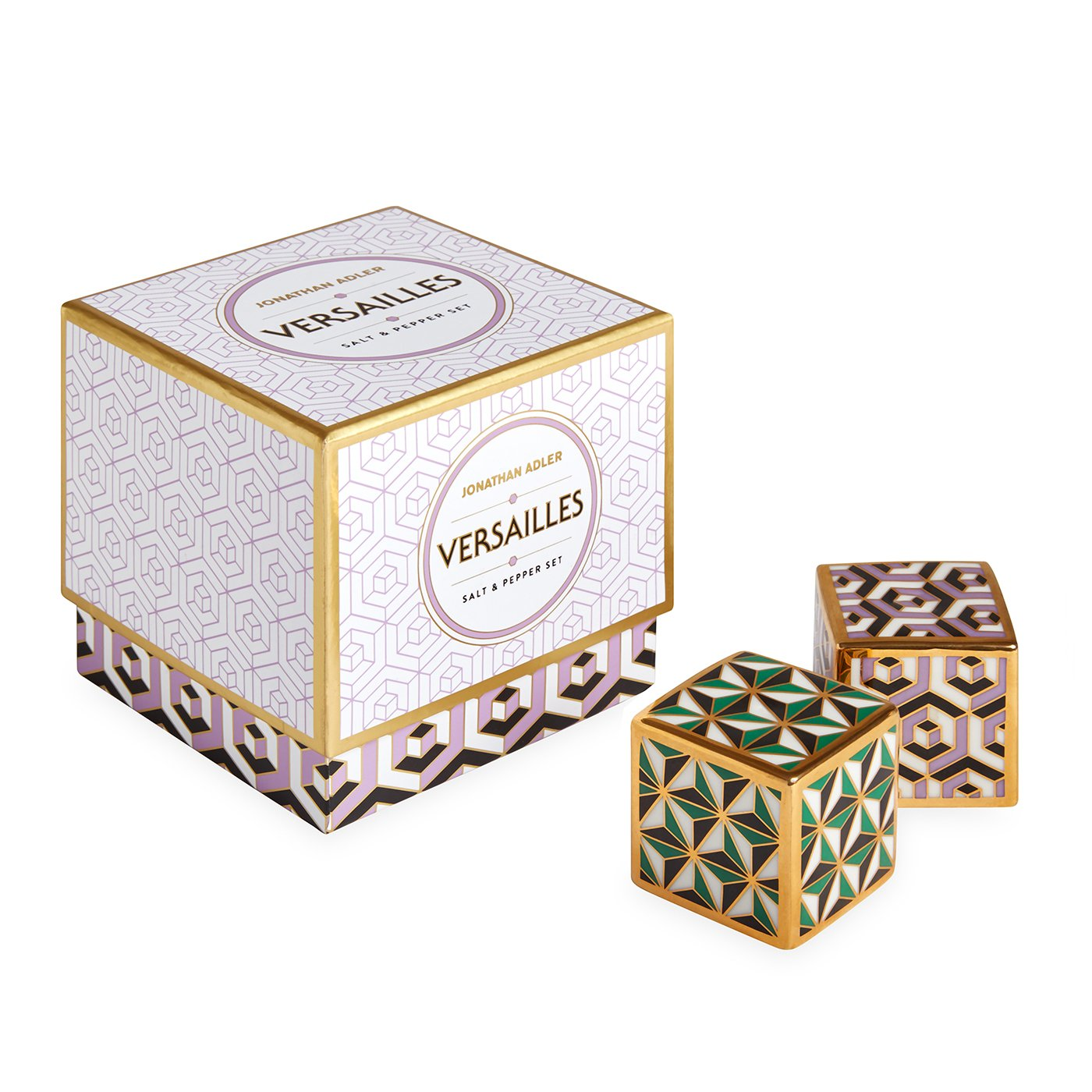 Jonathan Adler 26475 Versailles Salt and Pepper Shaker, One Size, Multi by Jonathan Adler