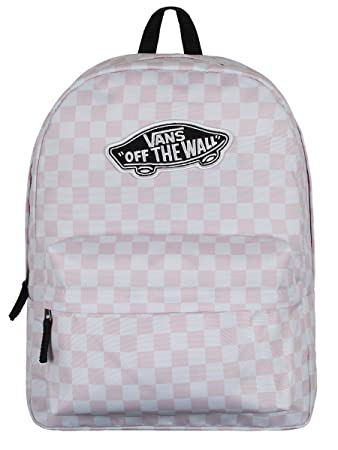 Vans Daypack, Chalk Pink Checkerboard (Pink) - V00NZ0P2A: Amazon.de ...