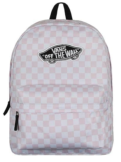 Vans Daypack, Chalk Pink Checkerboard (Pink) - V00NZ0P2A: Amazon.de ...