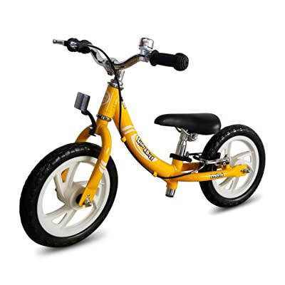 KinderBike Mini EX Balance Bike (Yellow): Sports & Outdoors