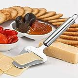 Mudder 2 Pieces Cheese Cutter,Adjustable