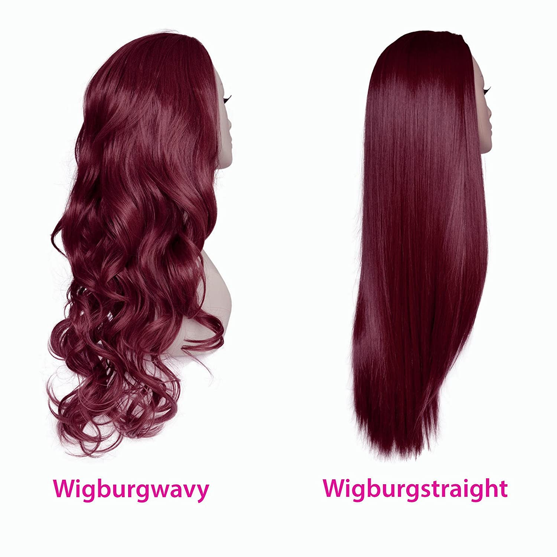 Amazon Elegant Hair 22 Ladies 34 Wig Half Fall Clip In