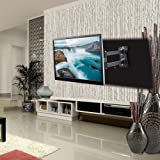 "Gadget-Wagon 43"" LED Full Motion TV Wall Mount with Rotate and Tile Option"
