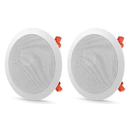 Amazon Com Jbl C 81c 8 In Ceiling Speakers Pair Home