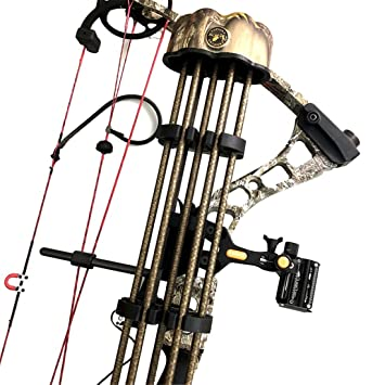 Amazon.com: Archery Quiver 5 flechas tubo compuesto arco ...