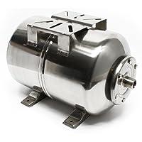 50L INOX/RVS druktank Expansie binnenlandse waterwerken pomp EPDM-Membrane