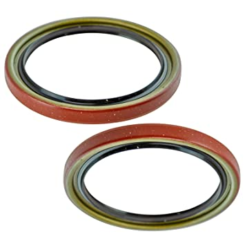 Front Driver /& Passenger Side Wheel Seal Pair for Chevy Buick GMC