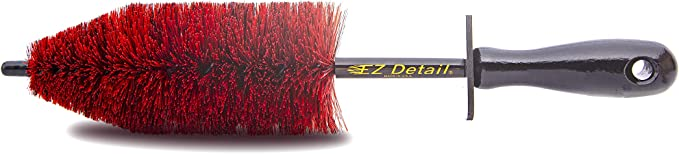 EZ Detail Brush Little - Red - Wheel Rim Cleaner
