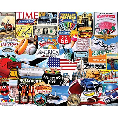 Puzzles I Love America - 1000 Piece Jigsaw Puzzle: Toys & Games