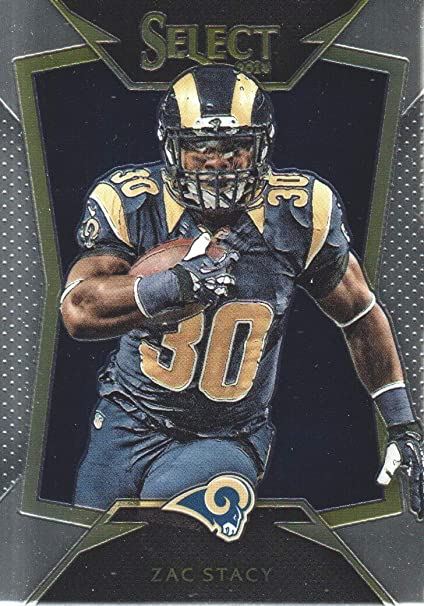 2014 Select Football #4 Zac Stacy St. Louis Rams at Amazon's ...