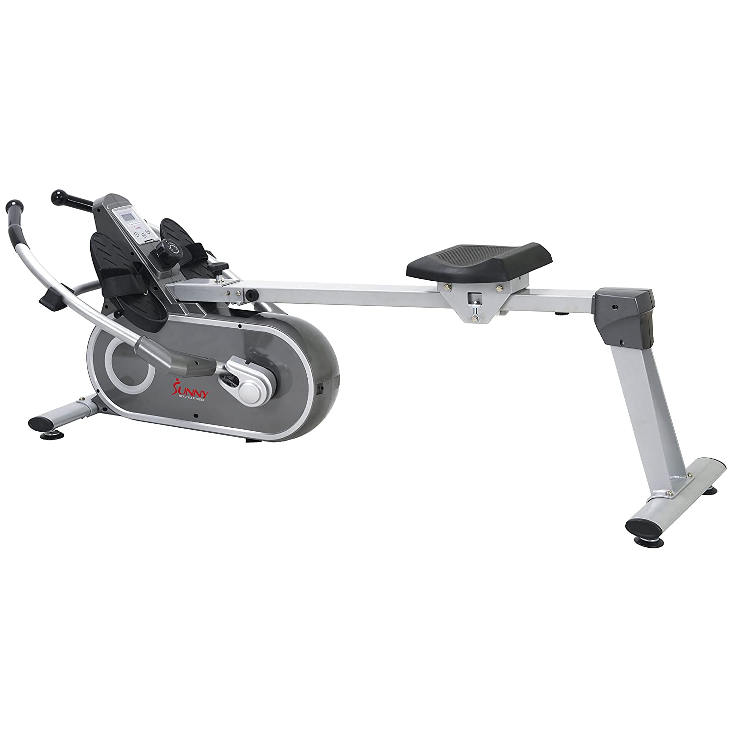 c8c0e5fd517 Amazon.com   Sunny Health   Fitness SF-RW5624 Full Motion Magnetic Rowing  Machine Rower w  LCD Monitor   Sports   Outdoors