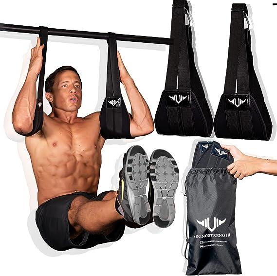 Fitness Ab Straps Home Gym Exerciser Premium Grade Abs Workout Equipment for Men /& Women
