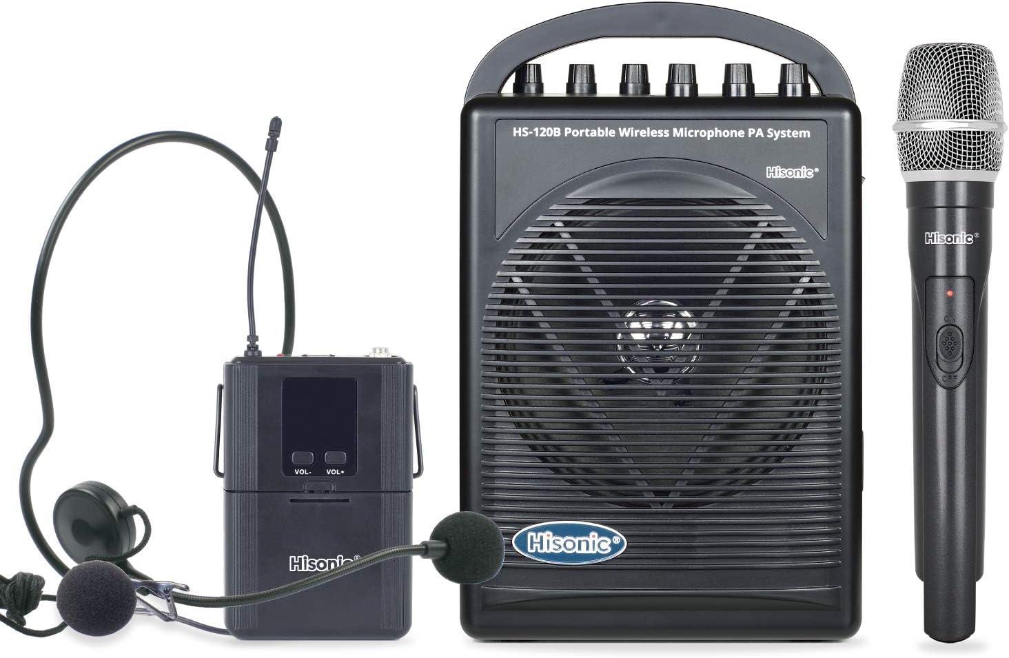 Hisonic Hs120B Rechargeable & Portable Pa (Public Address) System