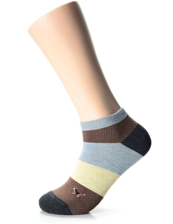 FLATSEVEN Mens Designer Fashion Athletic Socks