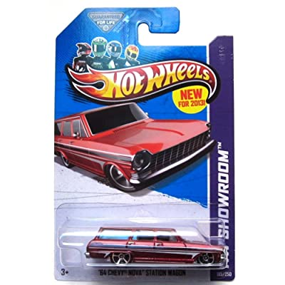 2013 Hot Wheels Hw Showroom '64 Chevy Nova Station Wagon 195/250: Toys & Games