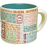 First Lines Literature Coffee Mug - The Greatest Opening Lines Of Literature, From Anna Karenina to Slaughterhouse Five - Com