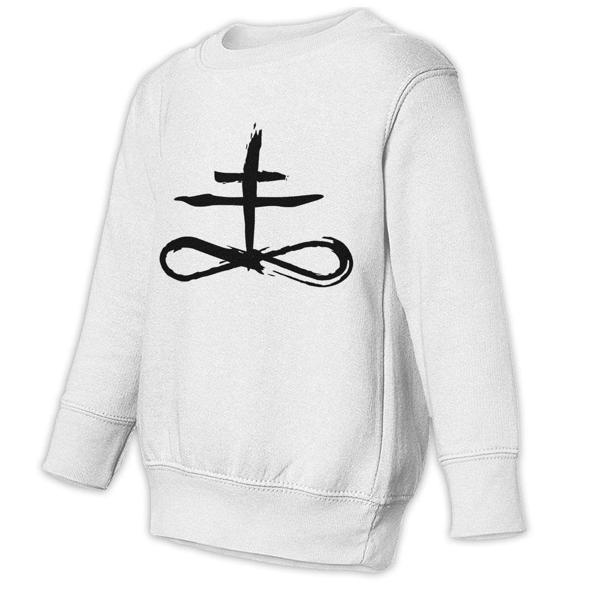 GHYNJUM Alchemy Sulfur Symbol Juvenile Unisex Cotton Long Sleeve Round Neck Sweatshirt