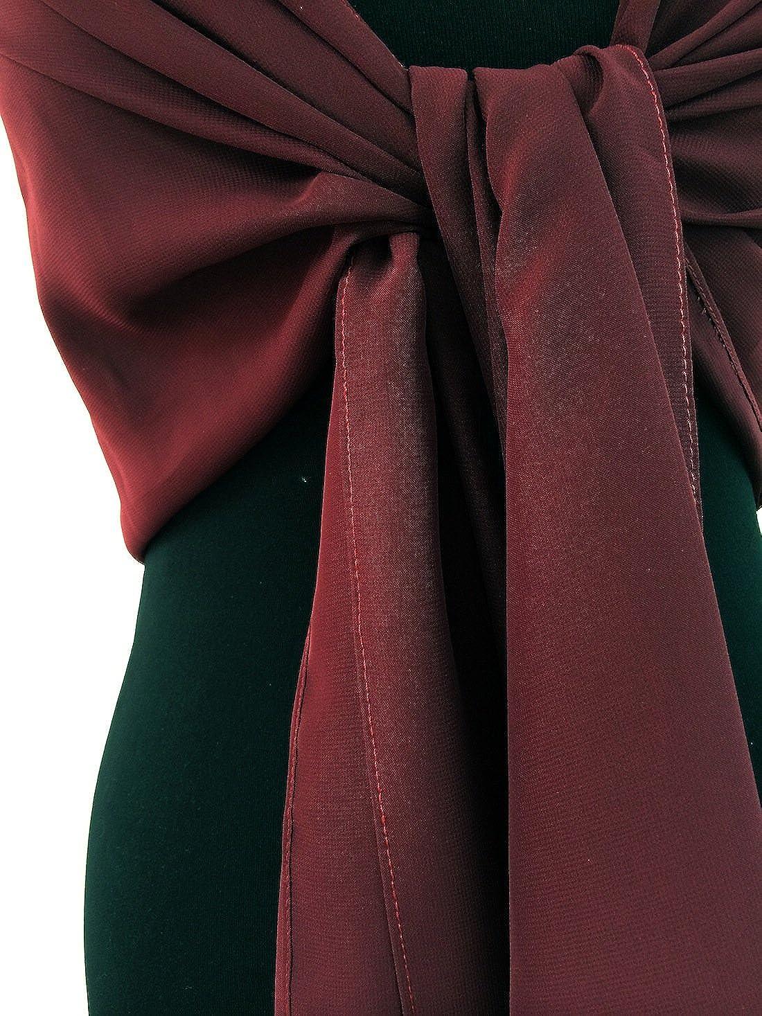 SEXYHER Sch?ne Chiffon-Schal//Schal//Wrap mit Perlen in verschiedenen Farben