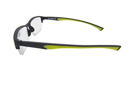 3e7a0dc8f4 Amazon.com  Calabria 6904 Semi-rimless Flexie Reading Glasses in Yellow    +1.00