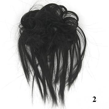 Amazoncom Messy Hairpiece Synthetic Hair Bun Scrunchy Messy Bun