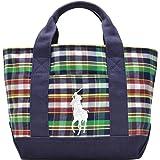 (ラルフローレン) Polo Ralph Lauren バッグ BAG トートバッグ CANVAS TOTE SM チェック キャンバス 959003 ブランド 並行輸入品
