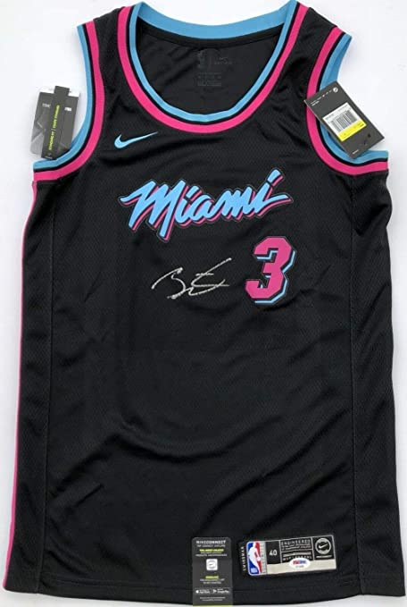 low priced 95b83 91751 Dwyane Wade #3 Autographed Signed Memorabilia Miami Heat ...