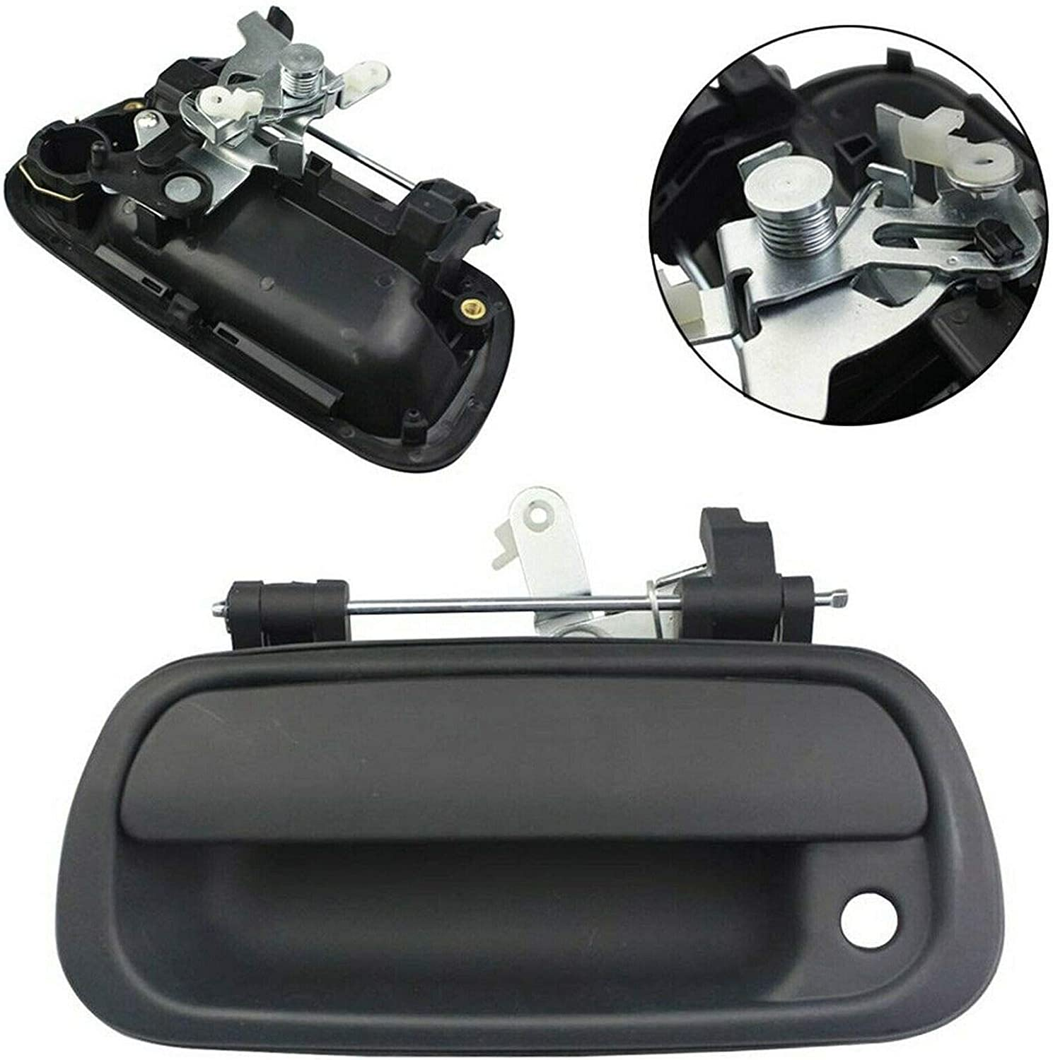 Tail Gate Tailgate Handle Black Rear 69090-0C010 For Toyota Tundra Pickup Truck