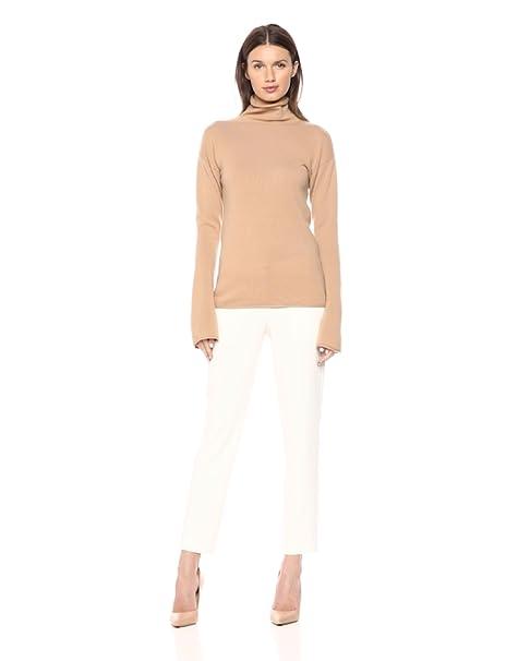 63711e8679 Amazon.com  Theory Women s Bell Sleeve Mockneck Sweater  Clothing