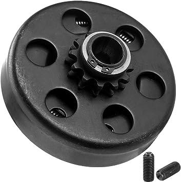 10 Dents DEDC Embrayage Centrifuge Al/ésage Int/érieur 3//4 inch pour Go-Kart Bike Engine