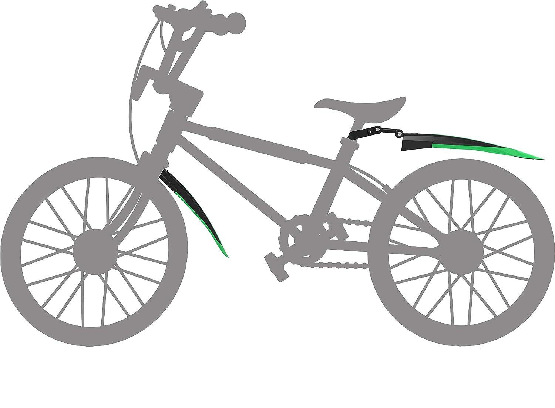 Silfrae Adjustable Standard 26 inch Mountain Bike Splash Guard Bike Fenders Set Front and Rear