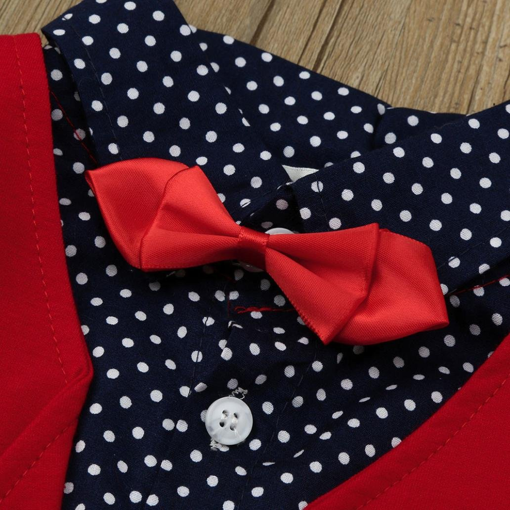 2eb341b9d ... DIGOOD for 0-4 Years Old Boy Kids Baby Boy Little Gentry Clothes Formal  Party ...