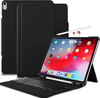 IVSO iPad Pro 12.9 Case with Wireless Keyboard Stand