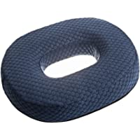 DJMed Foam Donut Coccyx Cushion for Comfort and Relief - Large