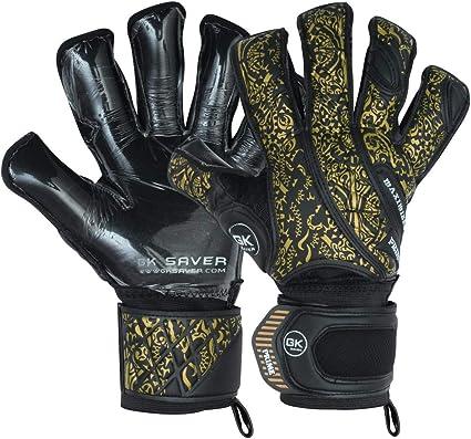 GK Saver Professional football goalkeeper gloves Prime Pro Gold Argo hybrid cut