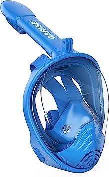G2RISE SN01 Máscara de Buceo, Máscara de Snorkel de Cara Completa ...