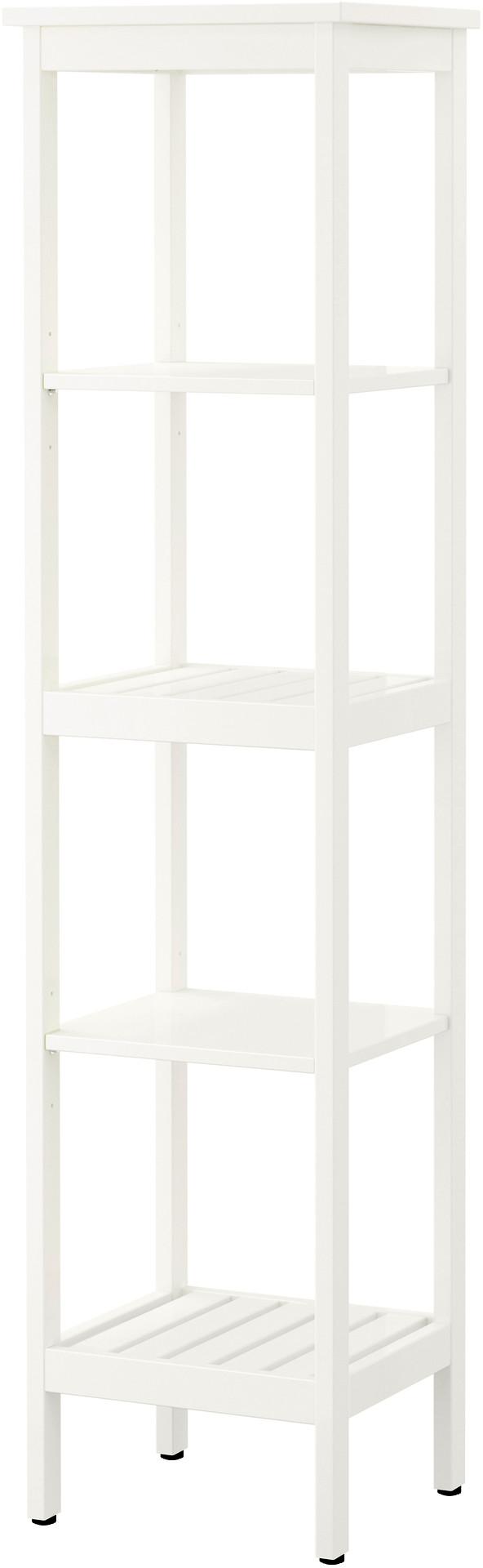 HEMNES Shelving unit - white - IKEA