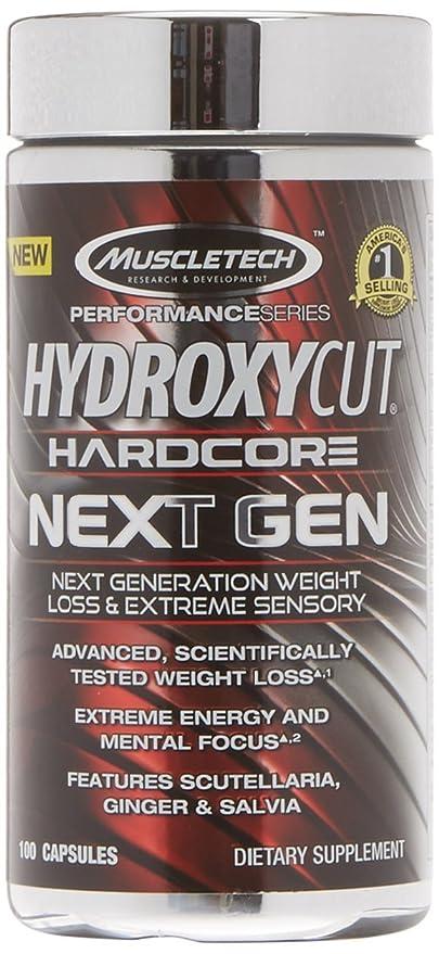 hydroxycut polvo efectos secundarios