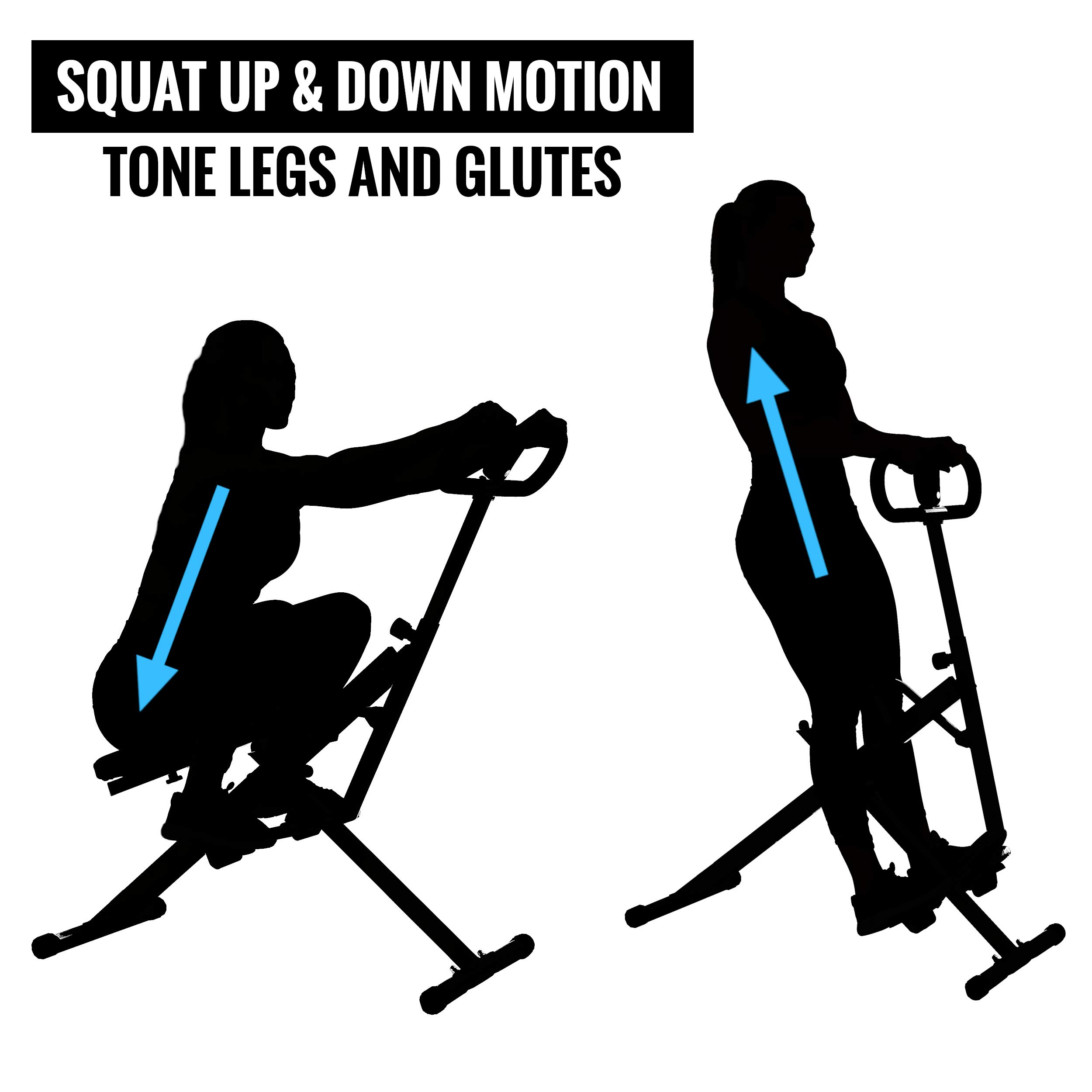 EFITMENT Squat Exercise and Glutes Workout - SA022 by EFITMENT (Image #3)